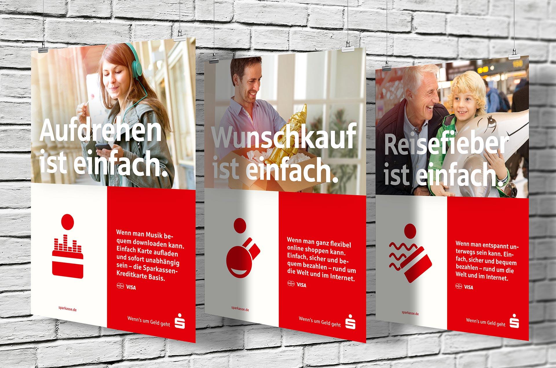 Kreditkarten Kampagne